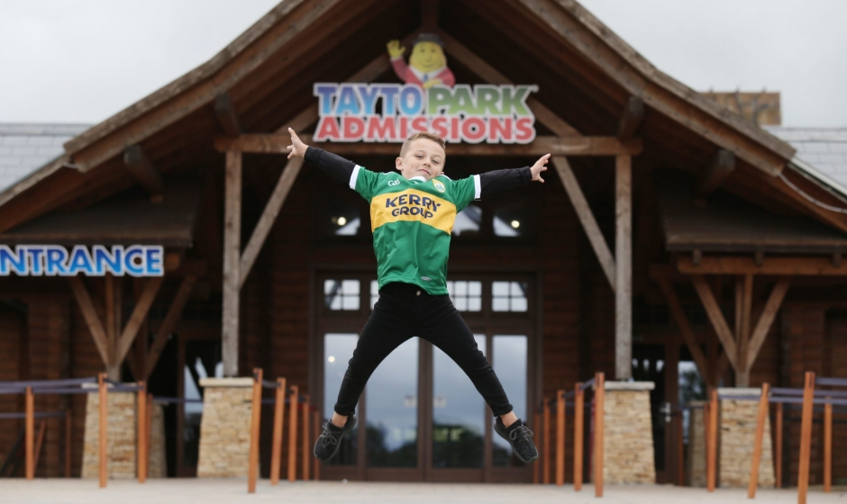 Kids go free at Tayto Park