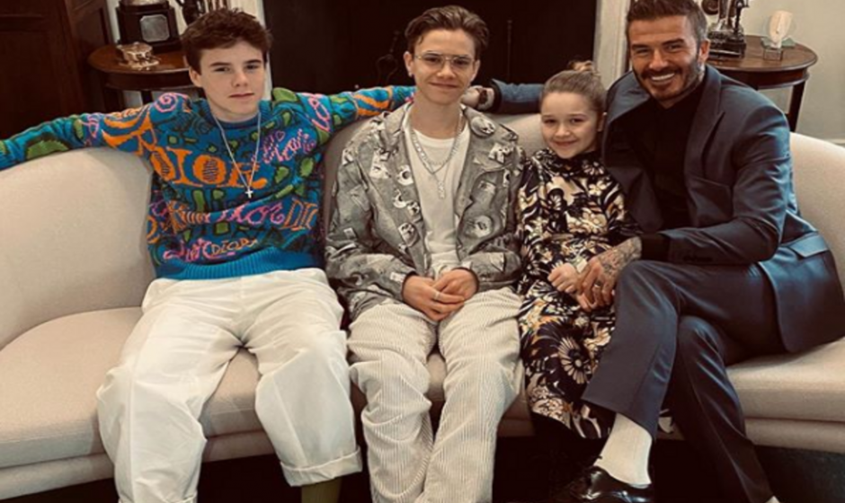 Beckham Family Steal Show at London Fashion Week