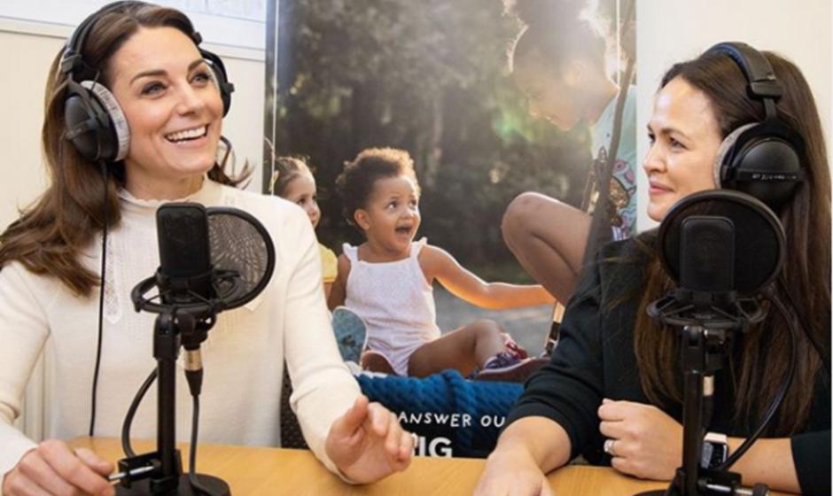 Kate Middleton Makes Podcast Debut